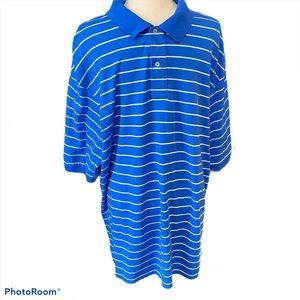 Polo Ralph Lauren blue/white stripe Polo, 2XLT